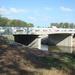 A hauched slab bridge will be replacing the steel truss bridge.