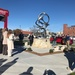 Community National Bank and Trust Ribbon Cutting and Sculpture Dedication